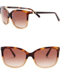 f0feba11678f Lyst - Kate Spade Women's Margita Sunglasses in Blue