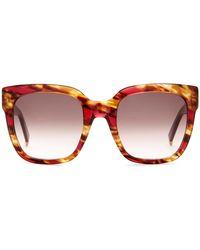 Max Mara - Women's Cat Eye Plastic Sunglasses - Lyst