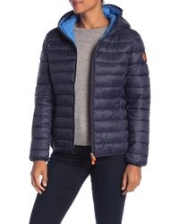 Save The Duck - Quilted Insulated Jacket - Lyst