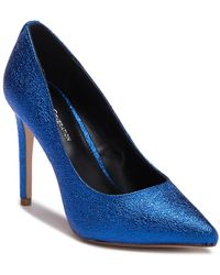BCBGeneration - Heidi Crackle Metallic Pump - Lyst