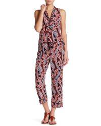 Trina Turk - Berta Floral Silk Pant - Lyst