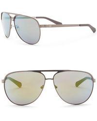 Guess - 62mm Aviator Sunglasses - Lyst