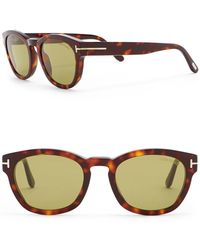 908c644d92a Lyst - Tom Ford Andrew Brown Square Sunglasses Ft0500 01h in Brown
