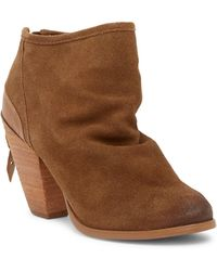 Naughty Monkey - Sereena Suede Ankle Boot - Lyst