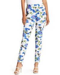 Insight - Floral Print Skinny Jeans - Lyst