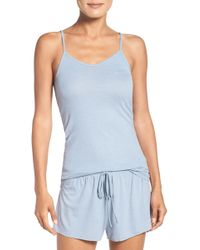 Barefoot Dreams - Luxe Ribbed Jersey Cami - Lyst