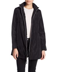 Via Spiga - Babydoll Hooded Jacket (petite) - Lyst