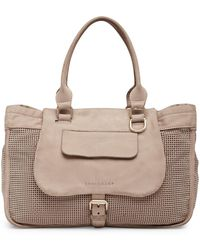 Longchamp - Balzane Perforated Leather Shoulder Bag - Lyst