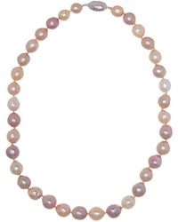 Tara Pearls - Sterling Silver 9-12mm Multi Freshwater Pearl Necklace - Lyst