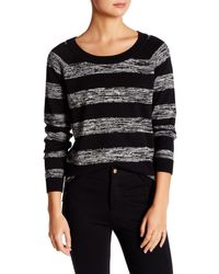 French Connection - Mega Marl Striped Sweater - Lyst