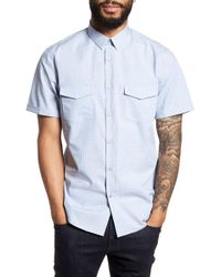 Calibrate - Grid Pocket Sport Shirt - Lyst