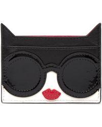 Alice + Olivia - Stace Face Cat Card Case - Lyst