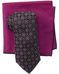 Ted Baker - Flower Lattice Tie Set - Lyst