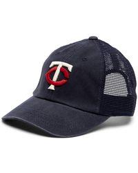 American Needle - Minnesota Twins Raglan Bones Mesh Baseball Cap - Lyst