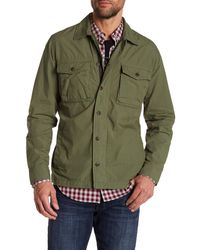 Lucky Brand - Long Sleeve Shirt Jacket - Lyst