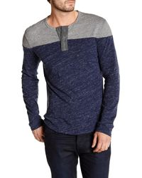 Lucky Brand - Flagstaff Football Henley - Lyst