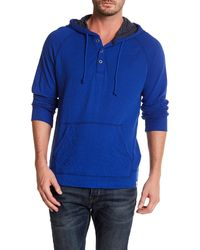 Lucky Brand - Double Knit Hoodie Pullover - Lyst