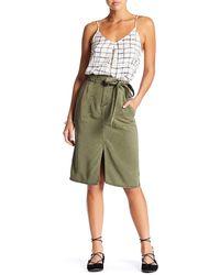 Lucky Brand - Utility Midi Skirt - Lyst