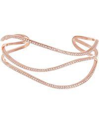 Vince Camuto - Pave Cuff Bracelet - Lyst
