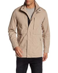 Theory - Stand Up Collared Jacket With Pockets - Lyst