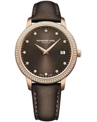 Raymond Weil - Women's Toccata Diamond Watch, 34mm - 0.29 Ctw - Lyst