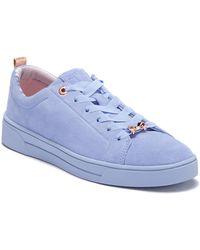 Ted Baker - Kelleis Leather Sneaker - Lyst