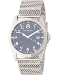 Victorinox | Men's Infantry Mesh Bracelet Watch, 40mm | Lyst