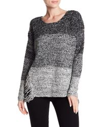 Love By Design - Distressed Pullover Jumper - Lyst