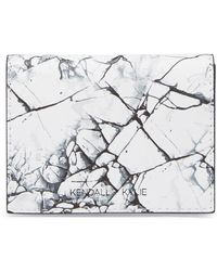 Kendall + Kylie - Cara Marble Wallet - Lyst