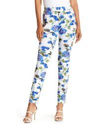 Insight - Floral Print Skinny Pants - Lyst
