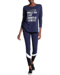 Andrew Marc - Colorblock Leggings - Lyst