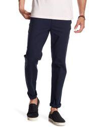 "Original Penguin - Stretch Dobby Straight Leg Trousers - 32"" Inseam - Lyst"