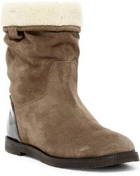Furla - Melany Faux Fur Pull-on Boot - Lyst
