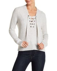 Lucky Brand - Lace-up Jumper - Lyst
