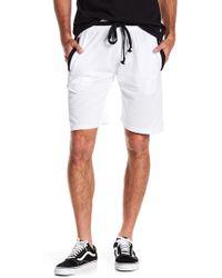 American Stitch - Colorblock Trim Shorts - Lyst