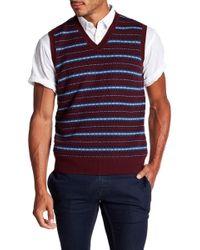 Brooks Brothers - Fairisle Wool Sweater Vest - Lyst