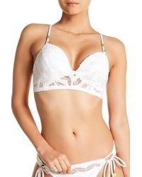 Robin Piccone - Aria Underwire Crochet Bikini Top - Lyst