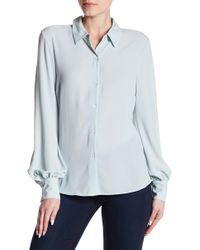 Vince Camuto - Front Button Blouse - Lyst