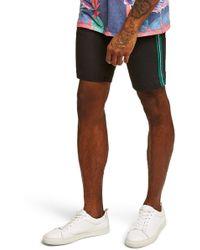 TOPMAN - Tape Chino Shorts - Lyst