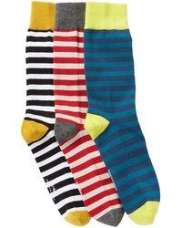 Richer Poorer - Theo Crew Socks - Pack Of 3 - Lyst
