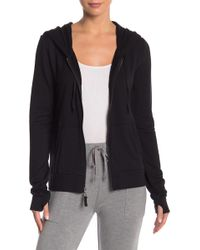 Threads For Thought - Kendra Feather Fleece Zip Up Hoodie - Lyst