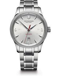 Victorinox - Men's Alliance Automatic Large Bracelet Watch, 40mm - Lyst