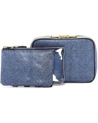 Kestrel - Artisan Shade Solid Organizer 3 Piece Set - Blue - Lyst