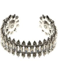 Marchesa - Crystal Statement Cuff Bracelet - Lyst