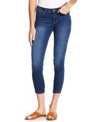 Kensie - Skinny Ankle Crop Jeans - Lyst