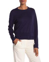 INHABIT - Double Hem Knit Pullover - Lyst