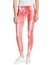 Genetic Denim - Shya Printed Skinny Jeans - Lyst