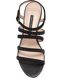 French Connection - Winetta Wedge Sandal - Lyst