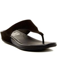 Fitflop - Banda Supercomff Cushioned Perforated Sandal - Lyst