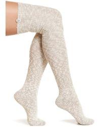 UGG - Slouchy Slub Thigh High Socks - Lyst
